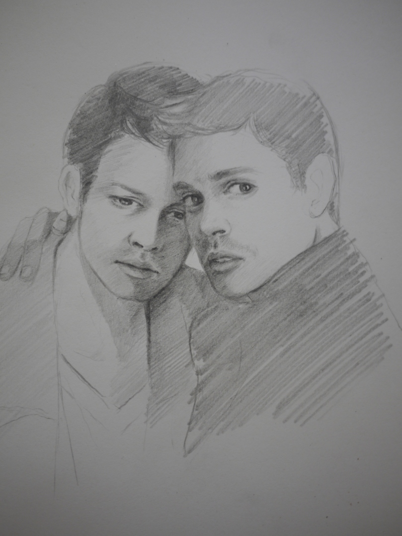 Castiel and Dean Winchester - This is my angel