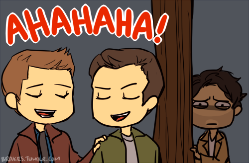 Castiel: Dean.....(眼眶含淚內心超嫉妒)