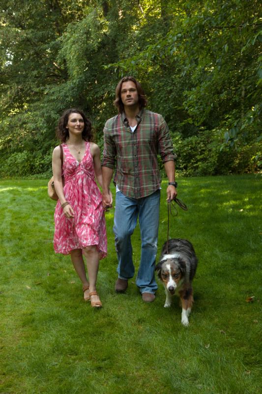 美女加狗不只是 Sam 的最愛,也是 Jared 的最愛