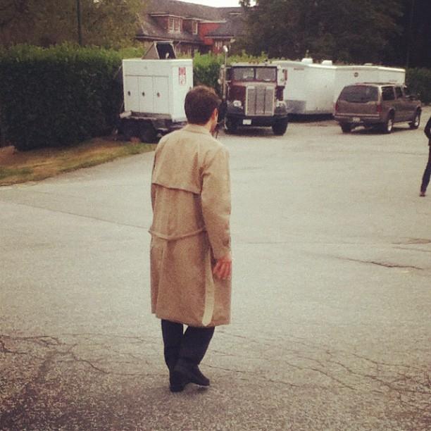 準備回去繼續拍戲的 Misha