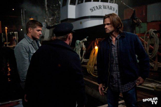 Sam: Dean?這是哪位? Dean: 說來話長,但是他不是我男朋友。