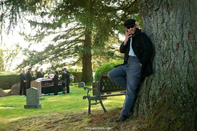 跟 Dean 情話綿綿的 Benny...唉,以前跟 Dean 情話綿綿的都是 Castiel 地說...