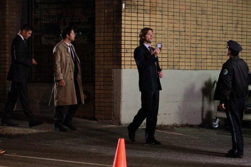 我還是覺得 Dean 跟 Castiel 才是絕配,大概是身高比較匹配吧!