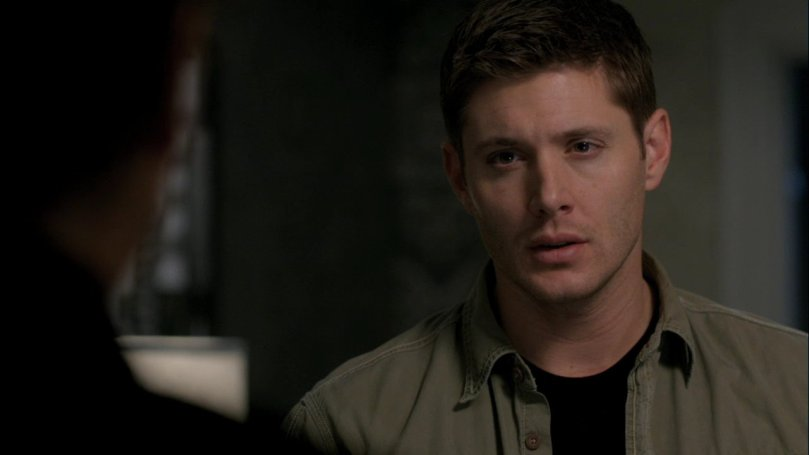 靠...他奶奶的你到底在說什麼(但是 Dean 這小子一瞬間眼神彷彿變得比較柔和)