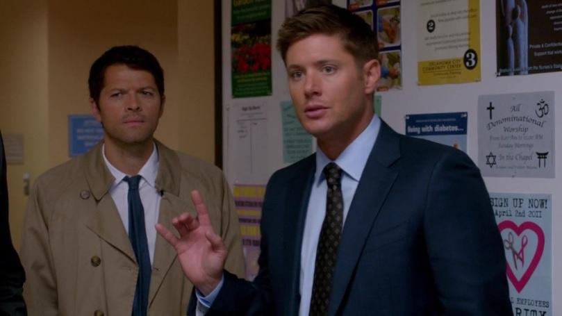 你們倆個不准給我調情(Dean 你為什麼要特別飛來這一句啊)