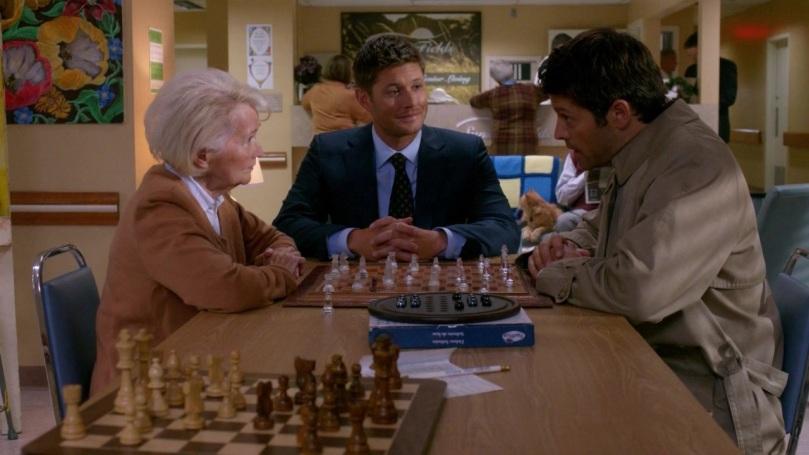 Dean 你看著 Castiel 的那個表情真的很詭異ㄟ!你是在看心上人還是是怎樣?