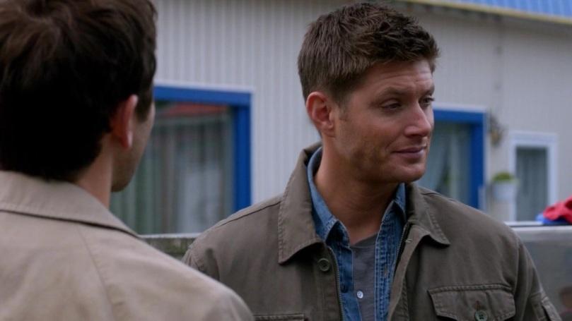 Dean 笑得有點樂,我說你的開心全寫在臉上了ㄟ!會不會太明顯啊?