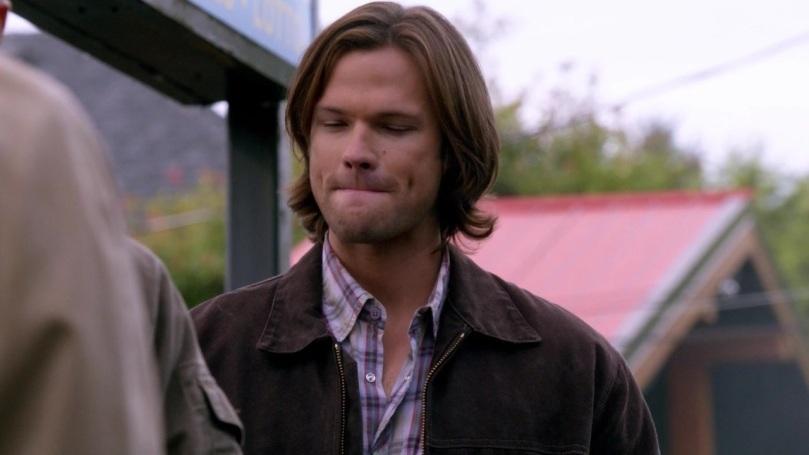 噗!第三者...這個有好笑到,你們兩個才是一對吧?為什麼可以在 Dean 面前說自己是第三者說得那麼開心啊?(憋笑中)