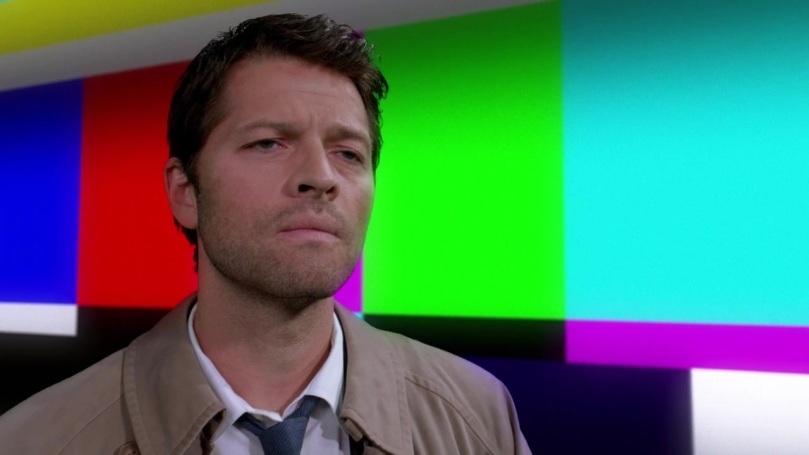 聽著 Sam 的話,內心卻開始反省自己的 Castiel