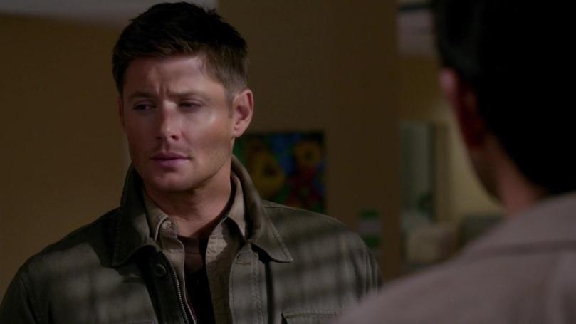 知道自己留不住 Cas 後,Dean 的臉上露出了很無奈的心痛表情,每一次都是這樣。