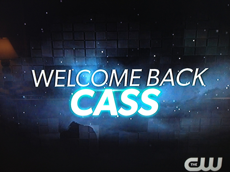 Welcome Back, Cas!