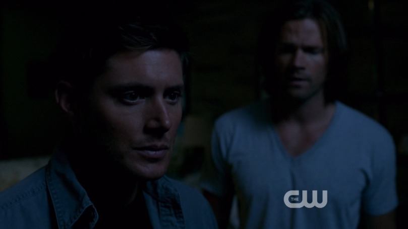 Dean,我真的覺得你是因為太過想念 Cas 而產生幻覺,Castiel 已經不在了,你要放下。