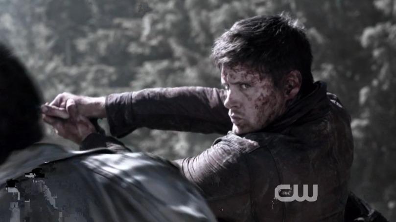 帥氣砍掉 Leviathans 頭頭的 Dean