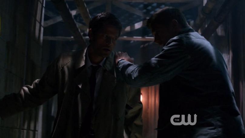 Dean 先生,拜託你下次攔腰抱住好不好,抓肩膀實在是有點不夠看ㄟ!