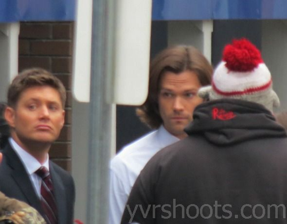 Supernatural on set photos - from YVShoots