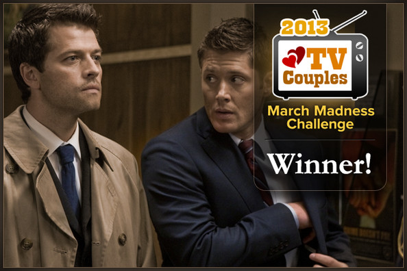 Dean & Castiel Win Zimbio's 2013 TV Couples March Madness Challenge!
