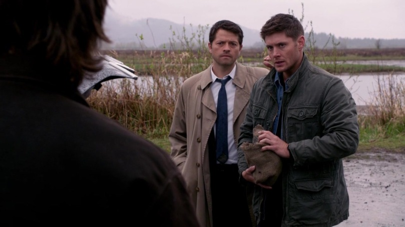 有些 Winchesters 的影迷對這段真的是很不滿,因為不滿為什麼 Dean 會丟下狀況不好的 Sam 跟 Castiel 出任務