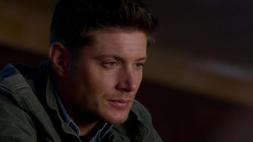不過翻完白眼後的 Dean,還是不免出現落寞的神情,以後可能就再也看不到 Cas 的蠢表情了...