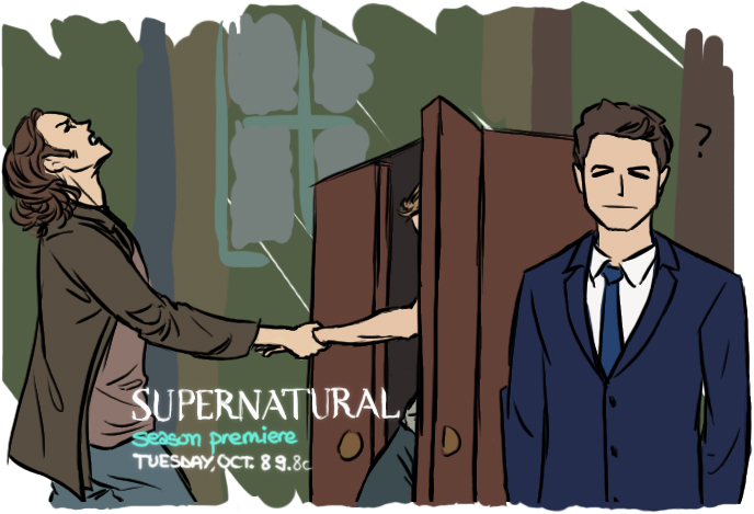 第九季惡搞宣傳海報 Part 1 - Dean 死不出櫃篇