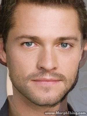 Hugh Dancy + Misha Collins