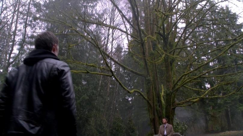Castiel 這頭的時間感覺像是六點(天色陰陰的看不太出來),不用懷疑,美國現在六點半都還這麼亮。