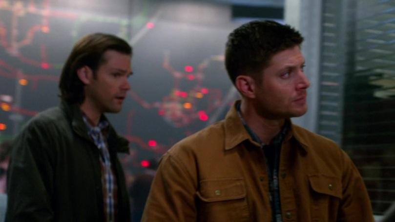 Dean 一開始眉頭還有點點皺著