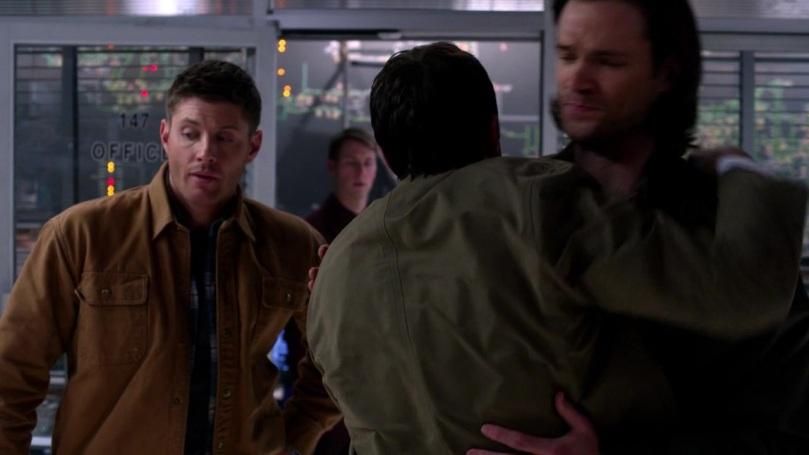 接著 Dean 就出現這個有點尷尬不習慣的表情