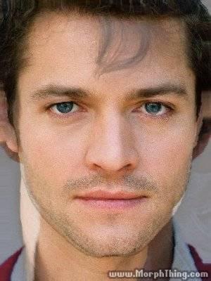 Misha Collins + 年輕貌的 Hugh Dancy