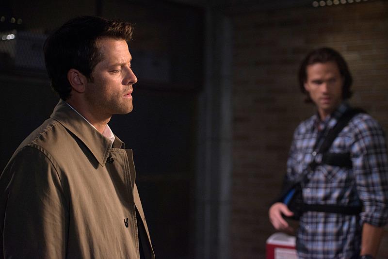 我想現在在 Castiel 眼前的傢伙應該就是 Dean Winchester 吧!