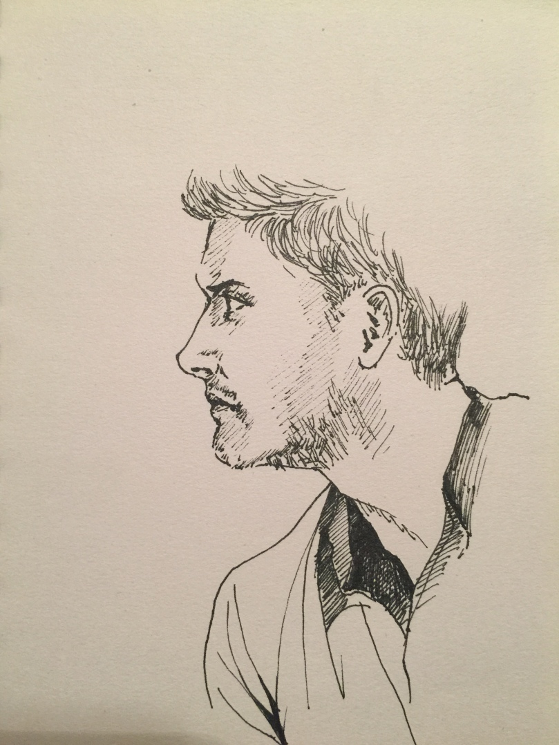 Quick sketch of Jensen Ackles