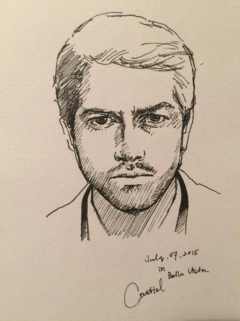 Castiel Quick Sketch