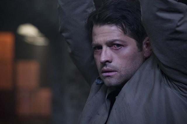 紅眼睛但是看起來還是很漂亮的 Castiel,話說回來,你的瀏海怎麼又整理好了?