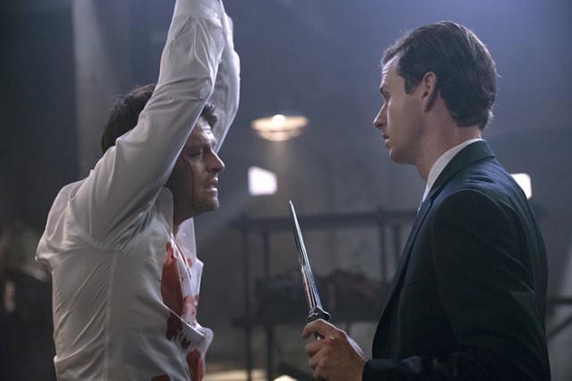 我老是在想,劇組喜歡三不五時凌虐 Castiel 的原因是不是因為他被 Uriel 打的時候表情太萌造成的?
