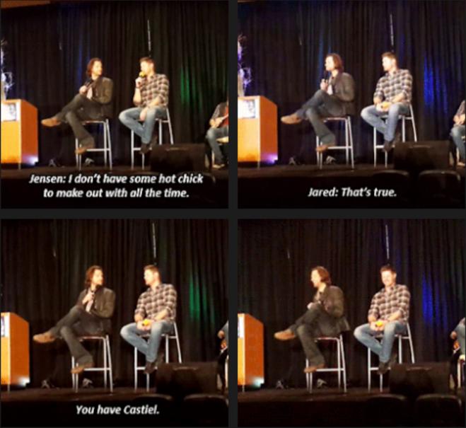 說老實話,這對話實在是還蠻好笑的,Jared 還真是直接的戳到重點